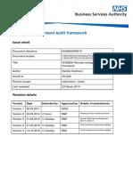 Records Management Audit Framework