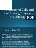 The History of Cells and Cell Theory