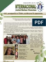 Boletin Internacional JMV - Octubre 2010