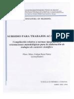 Subsidio Para Trabajos Académicos PDF