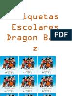 Etiquetas Escolares Dragon Ball Z.pptx