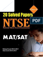 ntse 20 years papers