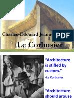 Le Corbusier Lecture