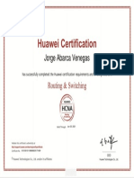 Certification HCNA
