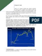 Venezuela. Consumo de Energia Per Capita