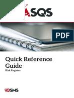 ASQS Quick Ref Risk Register