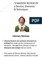 Introduction to the Subjectliterary Devices