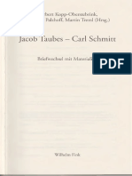 262 Briefwechsel - Jacob Taubes Und Carl Schmitt