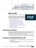 Mpls Over GRE