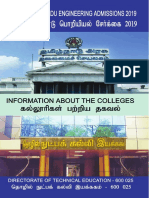 TNEA College Booklet 2019