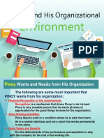 Chap 5 Pinoy and Org Environment