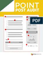 10 Point Blog Post Audit 2017