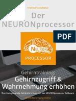 Der NEURONprocessor_Gehirntraining