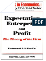 G. L. S Shackle - Expectation, enterprise and profit_ The theory of the firm (Studies in economics) (1970).pdf