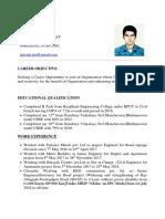 Priyajit's Resume New