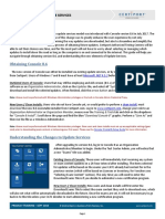 QRG Console 8 6 Update Services