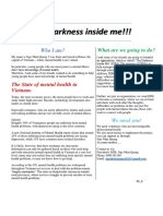 The darkness inside me - blog