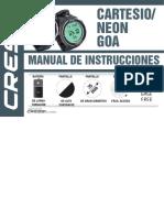 Cressi Goa Cartesio Neon Manual ES