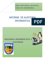 Informe Final de Auditoria Informatica Vani Celinda