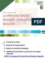 Fol 1 La Prevención de Riesgos 17-18