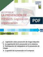 Fol 2 Legislación y Organización Prevención
