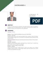 Dr.mustaq Resume A
