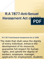 Anti Sexual Act