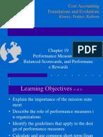 Ch19 Performance Measurement, Balanced Scorecards, And Performance Rewards