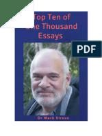 Top Ten of One Thousand Essays