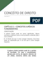 01 - Conceito de Direito (1)