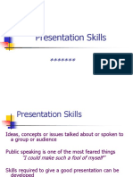 Presentation Skills Tips