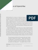 Exceptionalism Metaphor and Hybrid Warfa