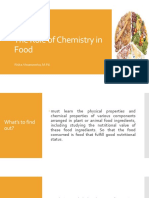 The Role of Chemistry in Food