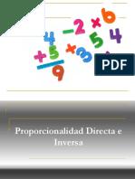 1. Proporcion Directa e Inversa