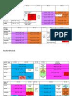 master schedule 2019-20