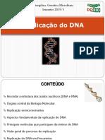 GEN_Aula 3 - Replicação Do DNA_2019.1