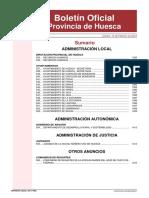 Bases Para 24 Bomberos en Diputacion de Huesca