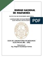 Guía Actualizada Lab Maquinas Electricas Ml 202