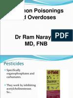 Common Poisonings (Toxidromes) 1 1 1