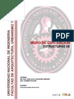 INFORME MURO DE CONTENCIÓN