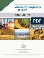 Punjab Annual Development Programme 2019-20