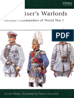 Kaiserswarlords German Commanders of World War 1