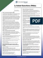 Orginal Brochure on PARfessionals' Peer Registry Program (2014)