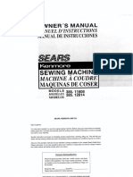Kenmore Sewing Machine Manual