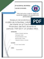 Ardl Informe Final