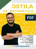 Apostila de MatemC3A1tica