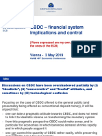 CBDC - Financial System Implications and Control