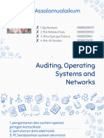 Auditing operating systems and networks