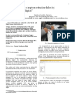 Paper - Diseño Simulacion e Implementacion Del Reloj Digital