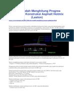 kitasipil.com - Cara Mudah Menghitung Progres Pekerjaan Konstruksi Asphalt Hotmix (Laston).docx